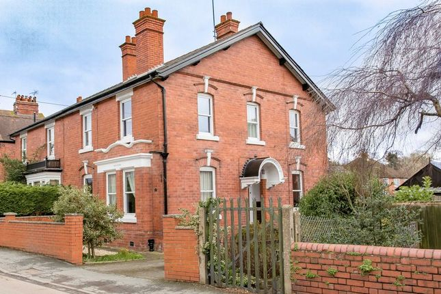 Thumbnail Semi-detached house for sale in Church Road, Tupsley, Hereford