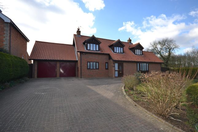 Thumbnail Property for sale in Station Road, Hillington, King's Lynn
