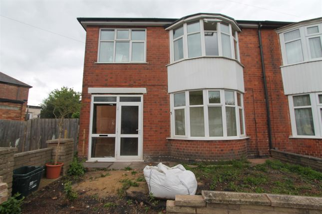 Thumbnail Semi-detached house for sale in Upperton Rise, Leicester