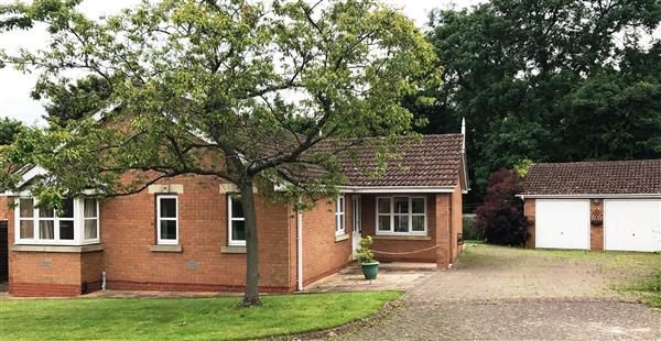 Thumbnail Detached bungalow for sale in Pippin Drive, Bottesford, Scunthorpe