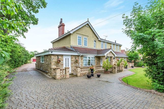 Thumbnail Detached house for sale in Moss Road, Moss, Doncaster