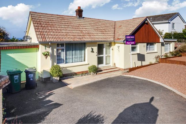 Thumbnail Detached bungalow for sale in Fern Park, Ilfracombe