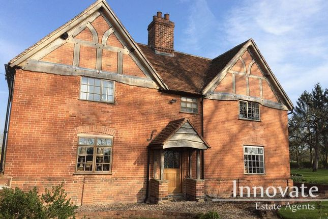 Thumbnail Farmhouse for sale in Packwood Road, Lapworth, Solihull