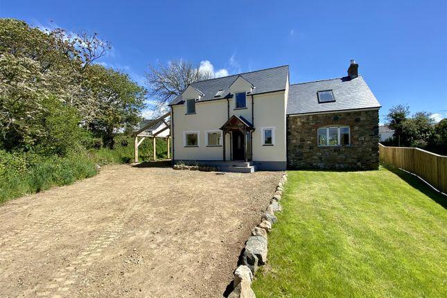 Thumbnail Detached house for sale in Bodlawen, Treffynnon, Haverfordwest