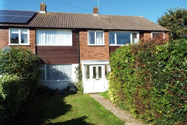 Thumbnail End terrace house to rent in Weydon Hill Close, Farnham