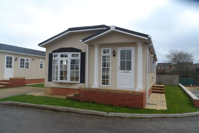 Thumbnail Bungalow for sale in Seaview Park Homes, Easington Road, Hartlepool
