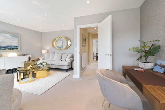 Thumbnail Town house for sale in Jubilee Meadows, Felcott Road, Hersham, Surrey