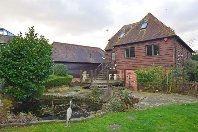 Thumbnail Barn conversion for sale in Moor Street, Rainham, Kent