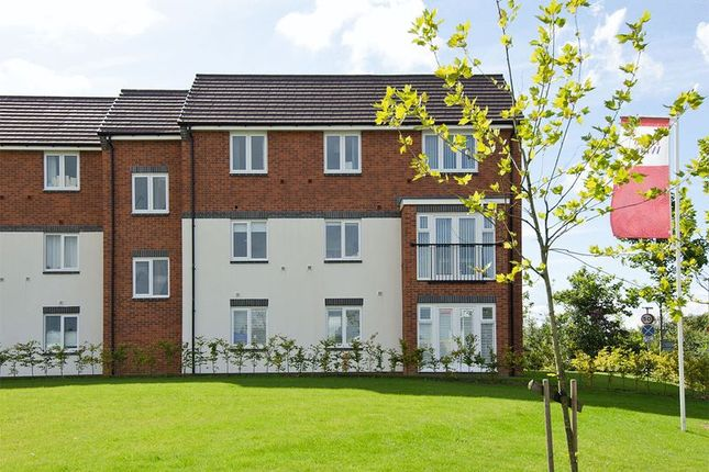 Thumbnail Flat for sale in Milbourne House, Collis Close, Burntwood
