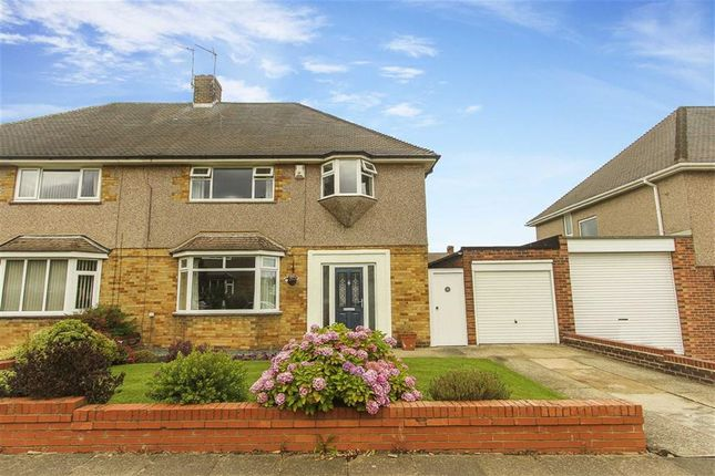 Thumbnail Semi-detached house for sale in Loughborough Avenue, Tynemouth, Tyne And Wear