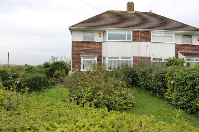 Thumbnail Semi-detached house for sale in Fletemoor Road, Plymouth