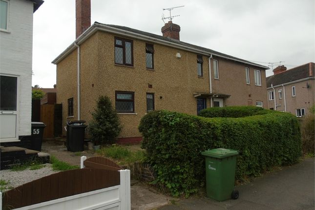 Thumbnail Semi-detached house for sale in The Crescent, Keresley End, Coventry, W Midlands