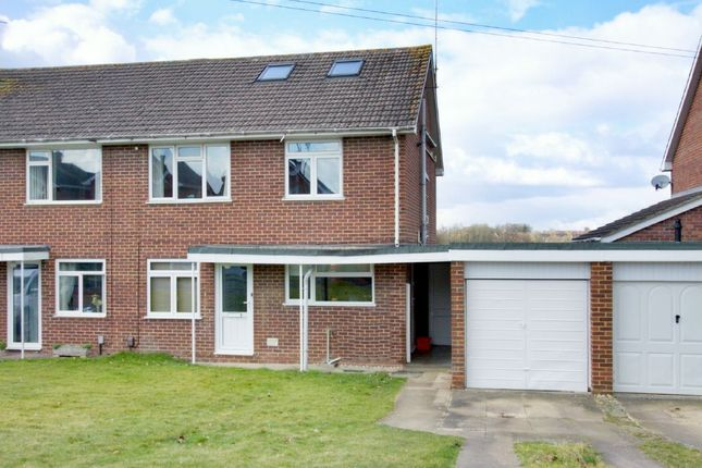 Thumbnail Semi-detached house for sale in Strathfield Road, Andover