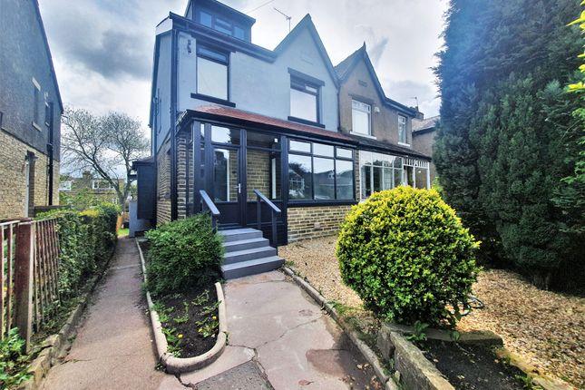 Thumbnail Semi-detached house to rent in Redburn Drive, Shipley