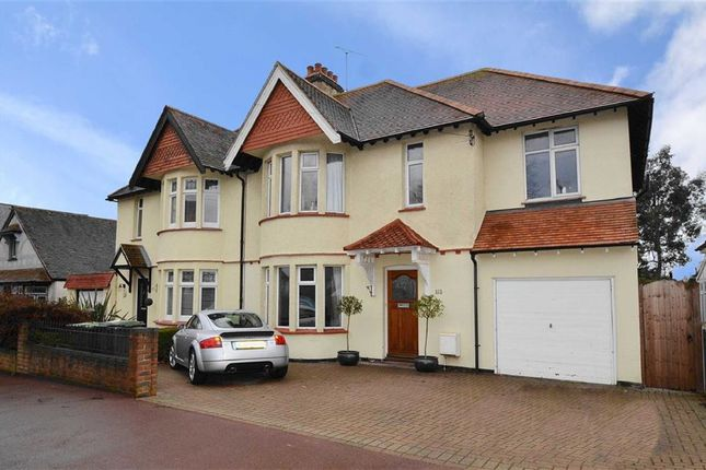 Thumbnail Semi-detached house for sale in Hadleigh Road, Leigh-On-Sea, Essex