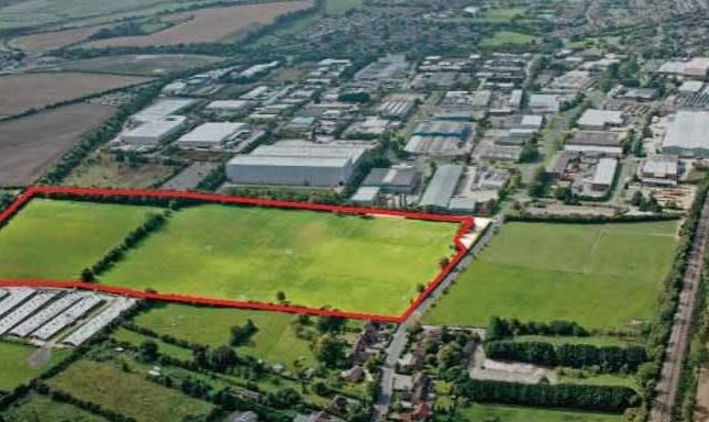 Thumbnail Warehouse for sale in Logistics City Andover, Plot 90 Walworth Business Park, Andover, Hampshire