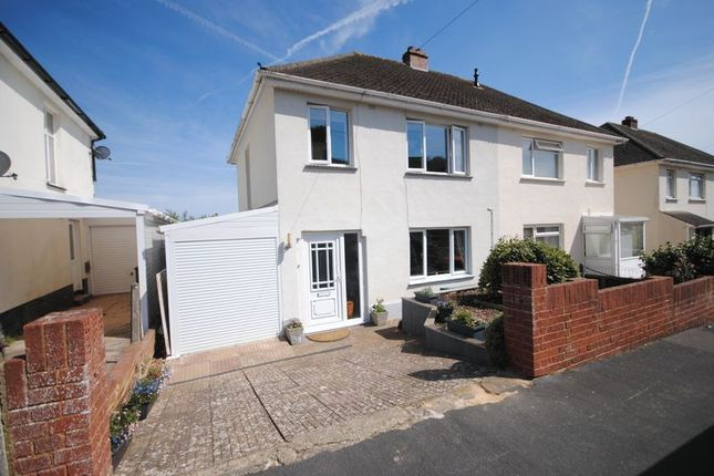 Thumbnail Semi-detached house for sale in Fox Road, Exeter