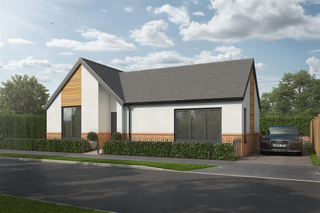 Thumbnail Detached bungalow for sale in Hall Farm Lodge, Hall Farm Road, Duffield