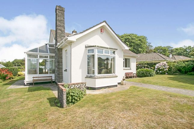 Thumbnail Bungalow for sale in Tregurthen Close, Camborne, Cornwall