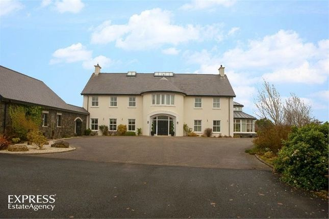 Thumbnail Detached house for sale in Ballyveely Road, Cloughmills, Ballymena, County Antrim