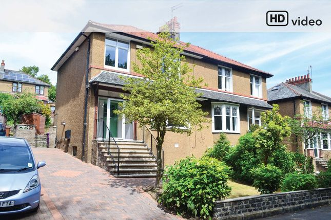 Thumbnail Semi-detached house for sale in Weymouth Drive, Kelvindale, Glasgow