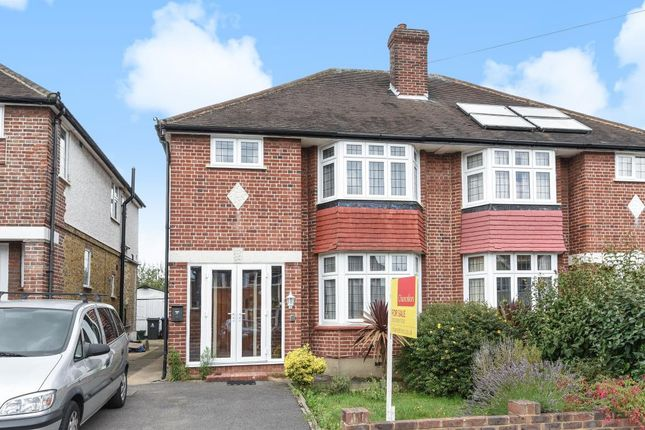 Thumbnail Semi-detached house for sale in Pembroke Avenue, Surbiton