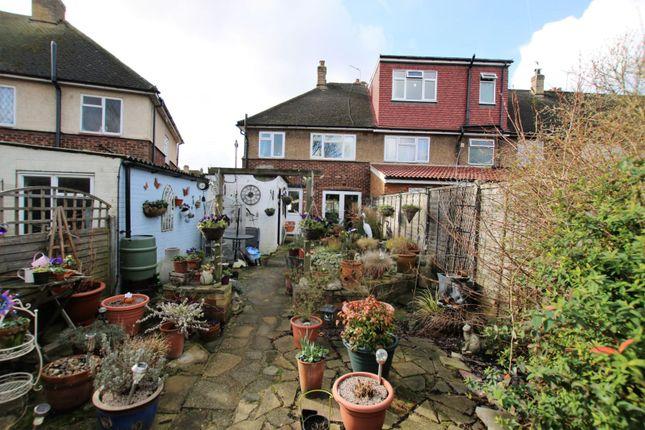 Rear Garden of Chestnut Close, Hayes UB3
