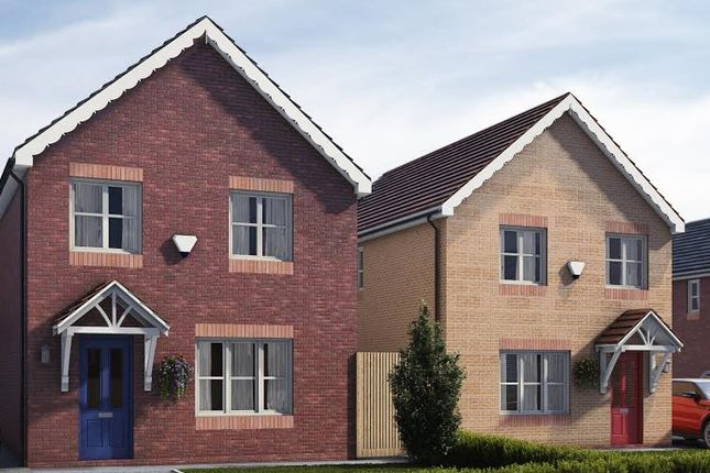 Thumbnail Detached house for sale in Plot 1 & 2 Pentrosfa Leys, Pentrosfa, Llandrindod Wells