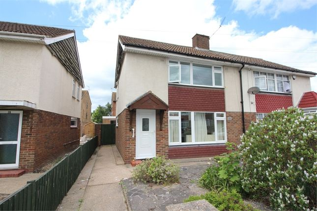 3 bed semi-detached house to rent in St Marys Avenue, Stanwell, Staines-Upon-Thames, Surrey