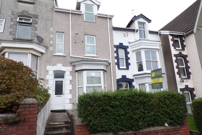 Thumbnail Terraced house to rent in Glanmor Crescent, Uplands, Swansea