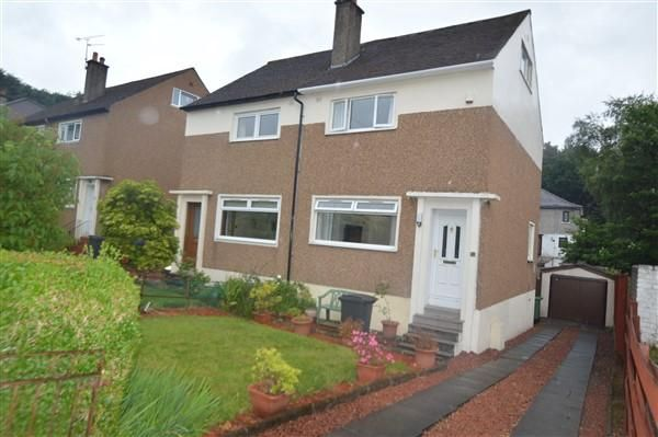 Thumbnail Semi-detached house for sale in Maxwell Avenue, Bearsden, Glasgow