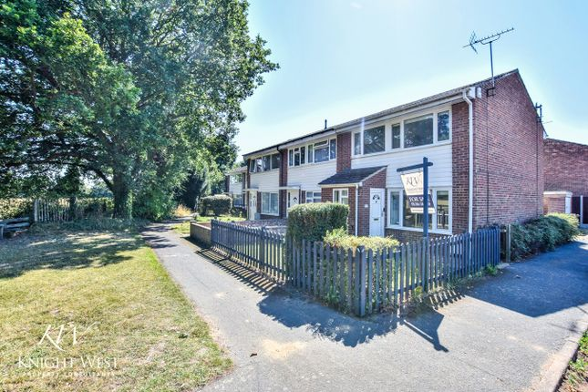 Thumbnail End terrace house for sale in Wyndham Close, Colchester