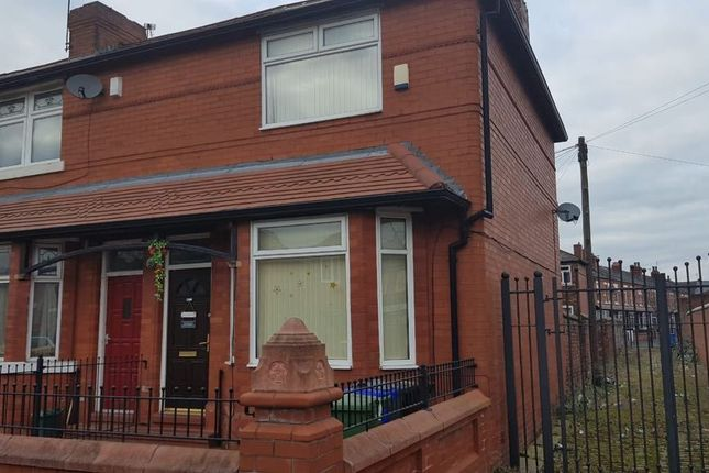 Thumbnail End terrace house for sale in Parkside Road, Fallowfield, Manchester