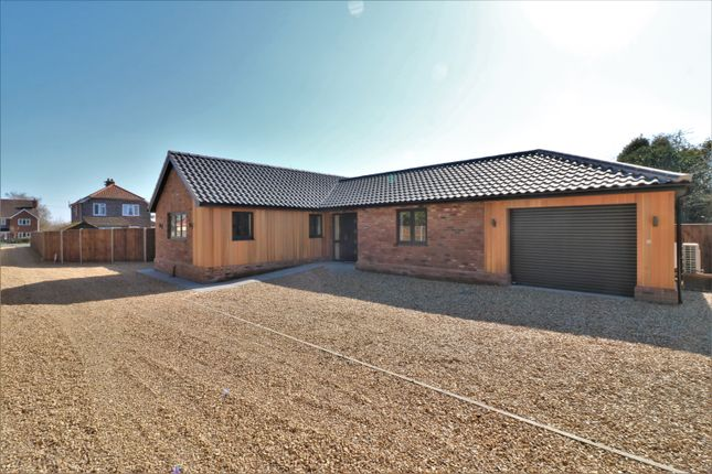 Detached bungalow for sale in Shipdham Road, Toftwood