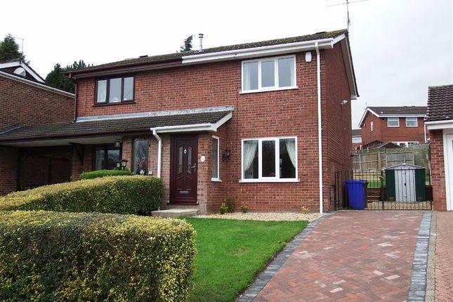 Thumbnail Semi-detached house to rent in Monsal Grove, Hanley, Stoke-On-Trent
