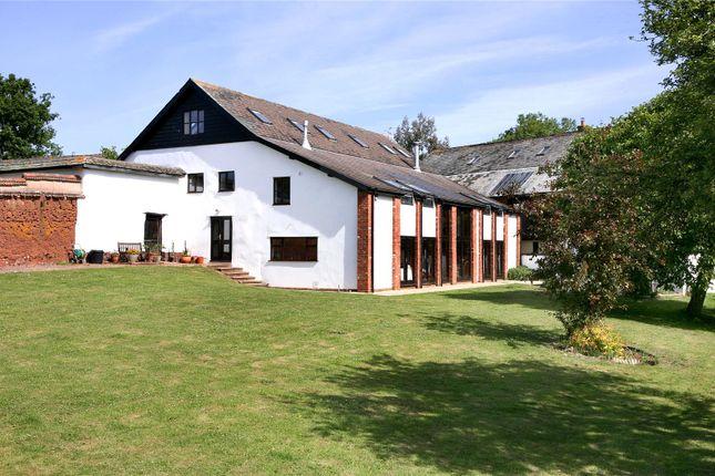 Thumbnail Detached house for sale in Efford, Shobrooke, Crediton, Devon