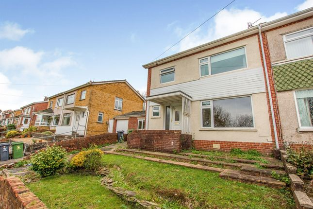 Thumbnail Semi-detached house for sale in Ridgeway Road, Rumney, Cardiff