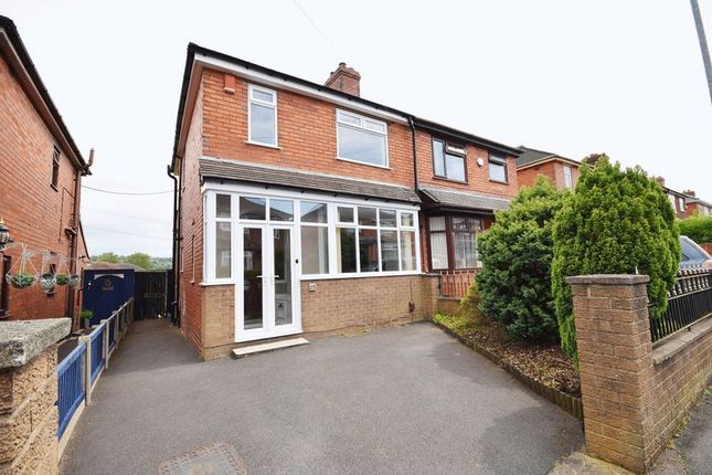 Thumbnail Semi-detached house for sale in Station Grove, Milton, Stoke-On-Trent