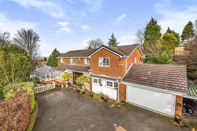 5 bed detached house for sale in Fox Hill Drive, Stalybridge SK15