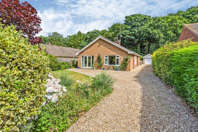 Thumbnail Detached bungalow for sale in Warren Road, High Kelling, Holt