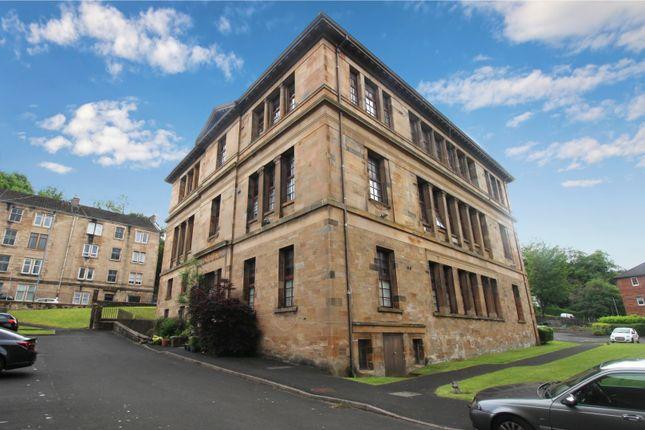 Thumbnail 1 bedroom flat for sale in School Court, Port Glasgow, Renfrewshire