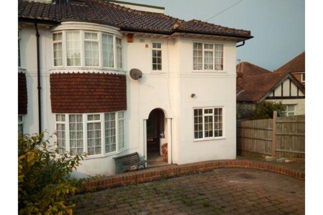 Thumbnail Semi-detached house for sale in Tudor Avenue, St. Leonards-On-Sea