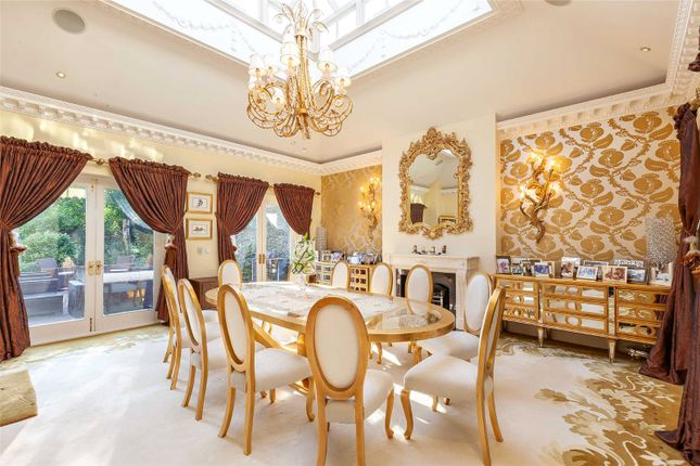 Dining Room of Carrwood, Hale Barns, Altrincham WA15