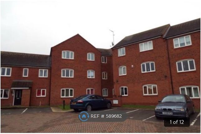 Thumbnail Flat to rent in Hobby Way, Cannock