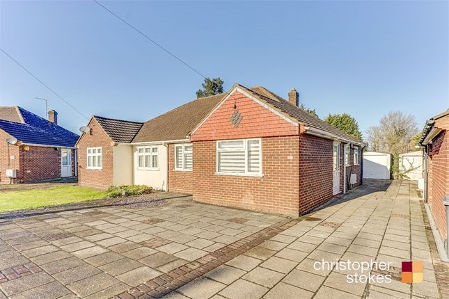 Thumbnail Semi-detached bungalow for sale in Northfield Road, Waltham Cross, Hertfordshire