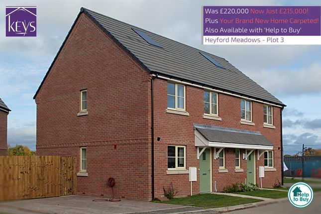 Semi-detached house for sale in The Chaffinch, Heyford Meadow, Hankelow