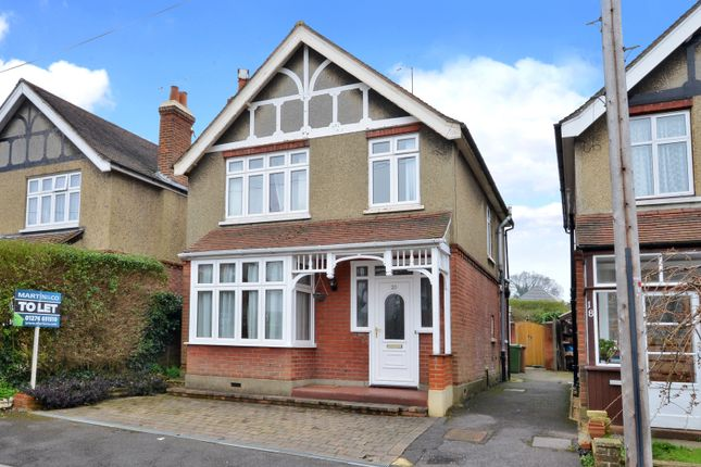 Thumbnail Detached house to rent in Cromwell Road, Camberley