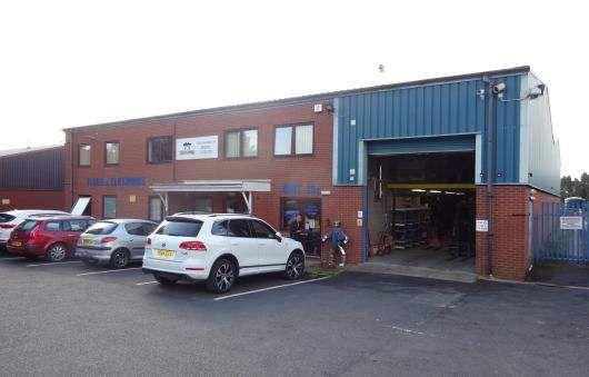 Thumbnail Warehouse to let in Hoo Farm, Kidderminster