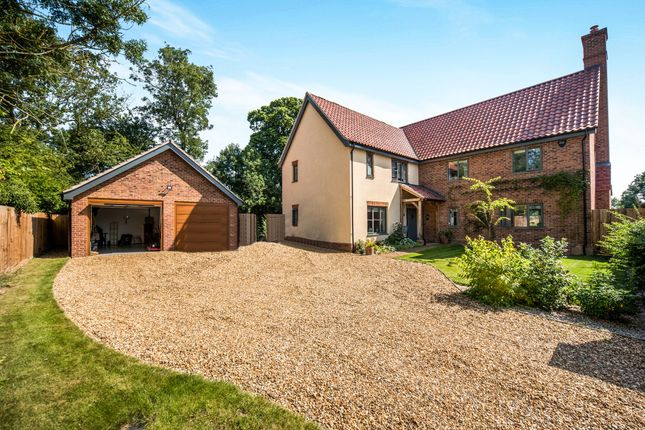 Detached house for sale in Bergh Apton, Norwich, Norfolk