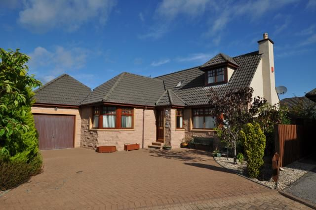 Thumbnail Detached house for sale in 9 Invererne Gardens, Forres